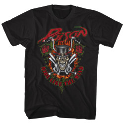Image for Poison T-Shirt - Ride Like the Wind