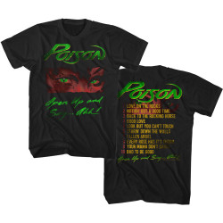 Image for Poison T-Shirt - Open Up