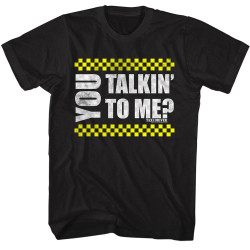 Image for Taxi Driver T-Shirt - You Talkin' to Me?