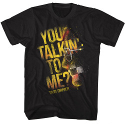 Image for Taxi Driver T-Shirt - Talkin'