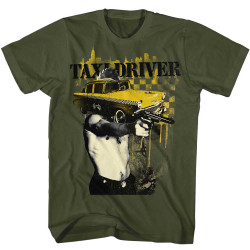 Image for Taxi Driver T-Shirt - Face