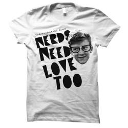 Image for The Breakfast Club Girls T-Shirt - Nerd Love