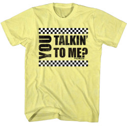 Image for Taxi Driver T-Shirt - You Talkin to Me?
