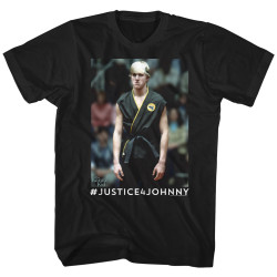 Image for Karate Kid T-Shirt - Justice 4 Johnny