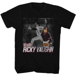 Image for Major League T-Shirt - Ricky Pitching
