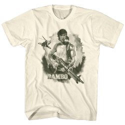 Image for Rambo T-Shirt - Watercolor