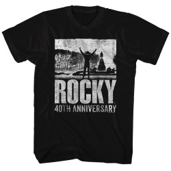 Image for Rocky T-Shirt - 40th Anniversary 2