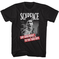 Image for Scarface T-Shirt - Say Goodnight