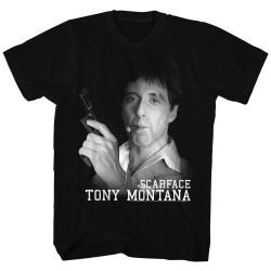 Image for Scarface T-Shirt - Tony's Got a Gun