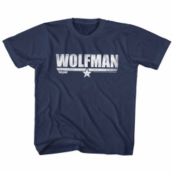 Image for Top Gun Wolfman Youth T-Shirt