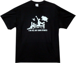 Image for I Do All My Own Stunts - Orgy T Shirt