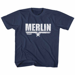 Image for Top Gun Merlin Youth T-Shirt