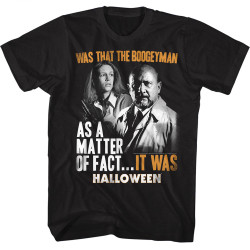 Image for Halloween T-Shirt - Was That the Boogeyman?