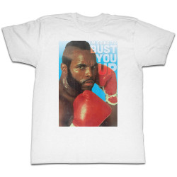Image for Mr. T T-Shirt - Bust You Up