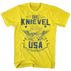 Image for Evel Knievel T-Shirt - Old Knievel