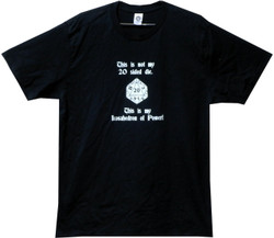 Image for This is Not My 20 Sided Die T Shirt