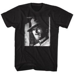 Image for Clint Eastwood T-Shirt - Smoking Glare