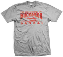 Image for Buckaroo Banzai Across the 8th Dimension Movie Logo T-Shirt