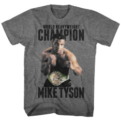 Image for Mike Tyson T-Shirt - Undefeated