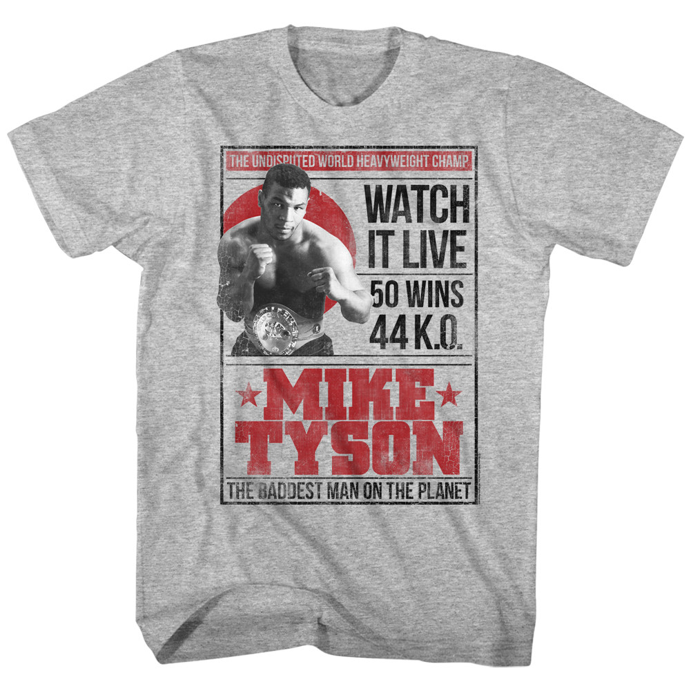 a7455ffb Hover over image to zoom. Image for Mike Tyson T-Shirt - Watch ...