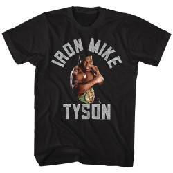 Image for Mike Tyson T-Shirt - Gimmie the Gold