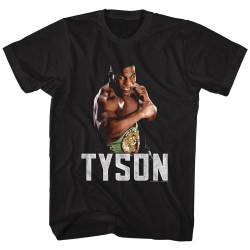 Image for Mike Tyson T-Shirt - Stance