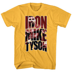 Image for Mike Tyson T-Shirt - Arch Logo