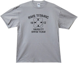Image for RMS Titanic Swim Team 1912 T Shirt