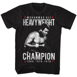 Image for Muhammad Ali T-Shirt - Heavy Champ