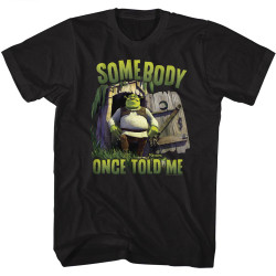 Image for Shrek T-Shirt - Somebody Once Told Me