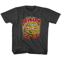 Image for Shrek Beware Ogre Toddler T-Shirt