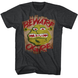 Image for Shrek T-Shirt - Beware Ogre