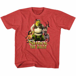Image for Shrek Shrek the Halls Youth T-Shirt