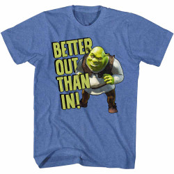 Image for Shrek T-Shirt - Better Out Than In!