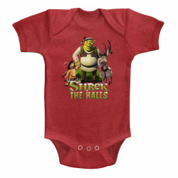 Image for Shrek Shrek the Halls Infant Baby Creeper