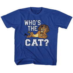Image for Madagascar Who's The Cat Toddler T-Shirt