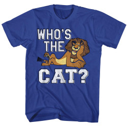Image for Madagascar T-Shirt - Who's the Cat