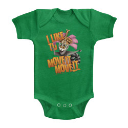 Image for Madagascar I Like to Move It Move It Infant Baby Creeper