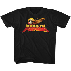 Image for Kung Fu Panda Cape Flare Logo Toddler T-Shirt
