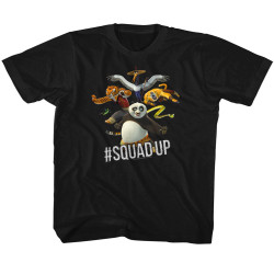 Image for Kung Fu Panda #Squad Up Youth T-Shirt