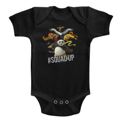 Image for Kung Fu Panda #Sqaud Up Infant Baby Creeper