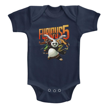 Image for Kung Fu Panda Furious 5 Infant Baby Creeper