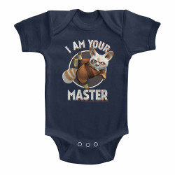 Image for Kung Fu Panda I am Your Master Infant Baby Creeper
