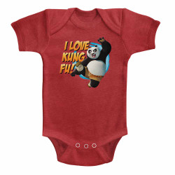 Image for Kung Fu Panda Logo Infant Baby Creeper