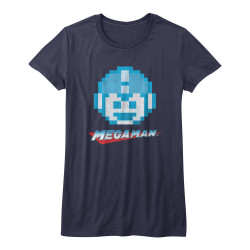 Image for Mega Man Girls T-Shirt - Mega Face