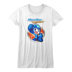 Image for Mega Man Girls T-Shirt - Powered Up