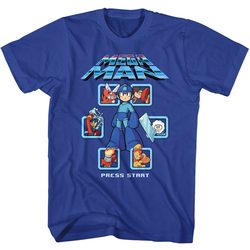 Image for Mega Man T-Shirt - Select Screen Remix