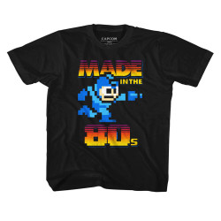 Image for Mega Man Made in the 80s Youth T-Shirt