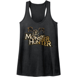 Image for Monster Hunter Logo Juniors Racerback Tank Top