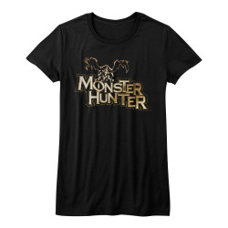 Image for Monster Hunter Girls T-Shirt - Logo